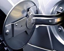 Tampa Exterior do Depósito Combustível