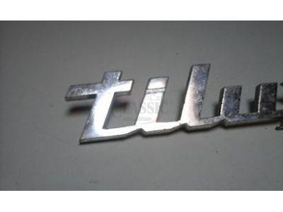 BMW Serie 02 E10 / BMW Serie E11 - Emblema traseiro (TILUX)