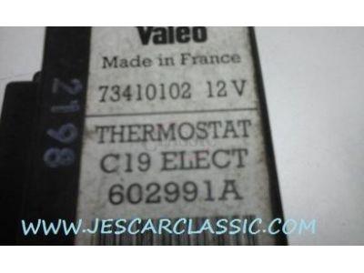 Peugeot 205 - Módulo electrónico do regulador temperatura (VALEO 602991A)