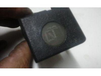 Citroen BX - Interruptor de lava-vidros (Preto)
