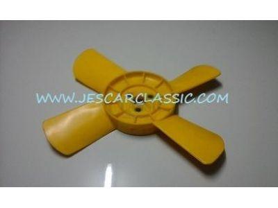 Fiat 124 - Ventoinha de arrefecimento motor