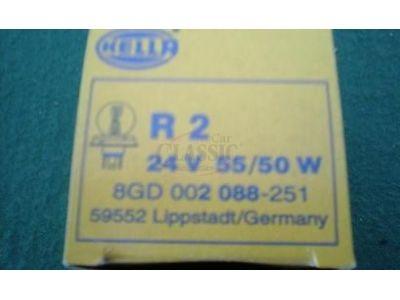 Lâmpada 24V 55/50W P45t R2 (Bilux)