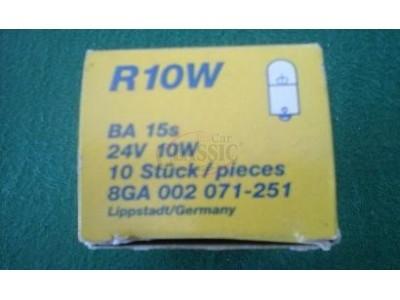 Lâmpada 24V 10W BA15s R10W