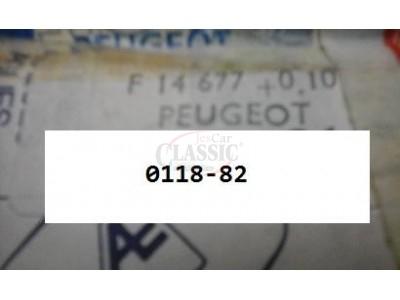 Peugeot 304 - Jogo de anilhas axiais cambota (0.10)