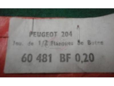 Peugeot 204 / Peugeot 304 - Jogo de anilhas axiais (0.20)