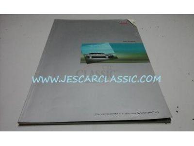 Audi A4 Avant B6 - Catálogo de lançamento