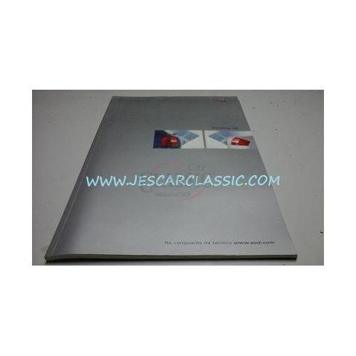 Audi A6 C5 / Audi A6 Avant C5 - Catálogo de lançamento (Detalhes)