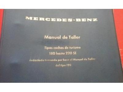Mercedes-Benz - Manual de trabalho (180 - 220SE)