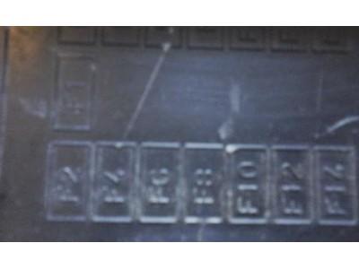 Citroen Saxo - Tampa da caixa fusíveis