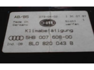 Audi A4 B5 - Comando de ventilação habitáculo