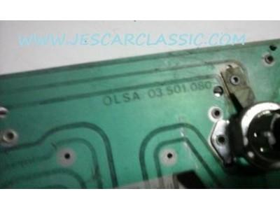 Alfa Romeo GTV - Suporte de lâmpadas farolim traseiro esquerdo (OLSA)