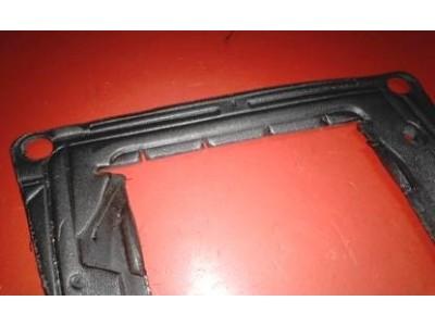 Renault 4 - Junta de vedação da caixa ventilação do habitáculo ao chassi