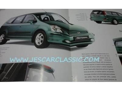 Honda Stream - Catálogo de acessórios