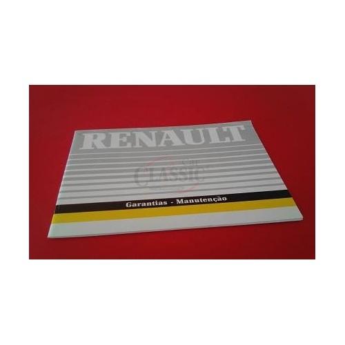 Renault Super 5 - Manual do condutor (Garantias-Manutenção)