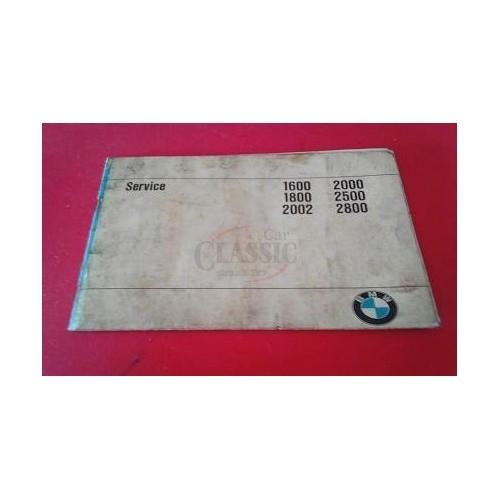Bmw Serie 02 1600-2800 - Manual do condutor (Service)