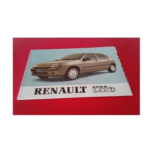 Renault Clio I - Manual do condutor