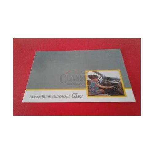 Renault Clio I - Catálogo de acessórios
