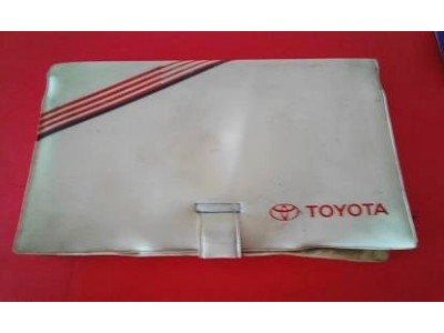 Toyota - Bolsa para manual do condutor