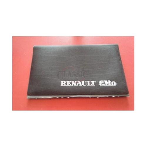 Renault Clio I - Bolsa para manual do condutor