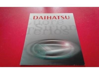 Daihatsu - Catálogo de modelos (Cuore, Sirion, Terios)