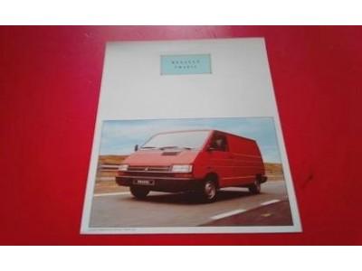 Renault Trafic I - Panfleto de lançamento