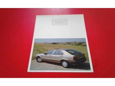 Renault 19 I - Panfleto de lançamento