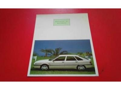 Renault 21 II - Panfleto de lançamento