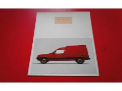 Renault Express I - Panfleto de lançamento