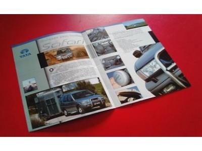 Tata Safari - Catálogo de lançamento