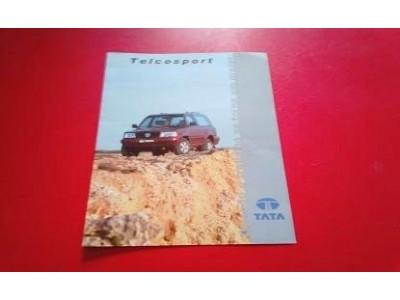 Tata Telcosport - Catálogo de lançamento