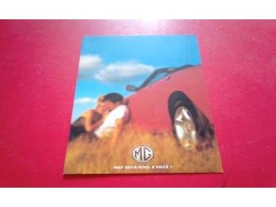 MG MGF - Catálogo de lançamento