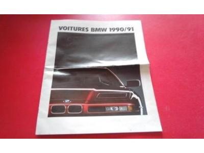 BMW - Catalogo de modelos - (Voitures BMW 1990/91)