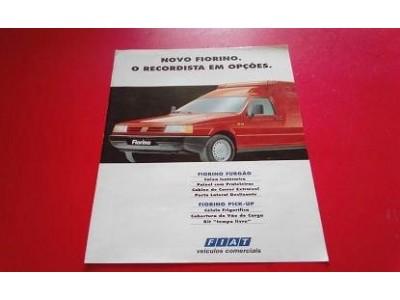 Fiat Fiorino - Catálogo de lançamento