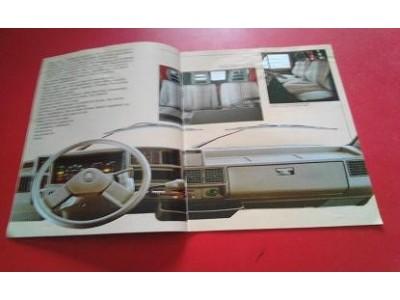 Citroen C25 - Catálogo de lançamento