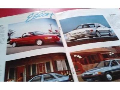 Ford Escort MkV - Catálogo de lançamento