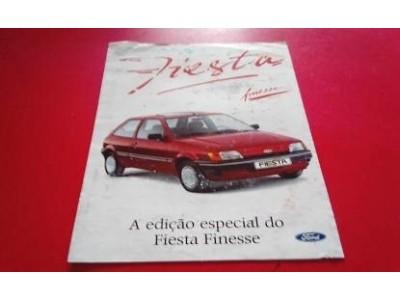 Ford Fiesta MkIII - Catálogo de lançamento