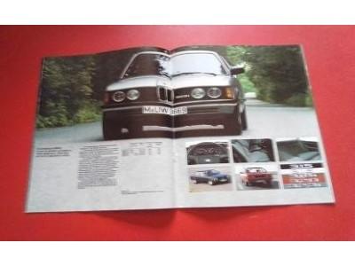 BMW - Catálogo de lançamento ( O programa da BMW )