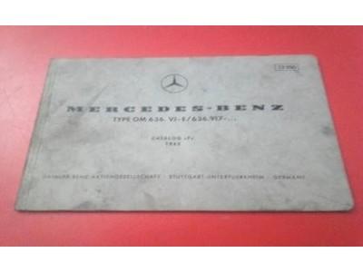 Mercedes-Benz - Catálogo de peças acessórios (Type OM 636. VI-E/636.917- ))
