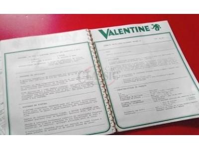 Valentine - Catálogo de cores tintas