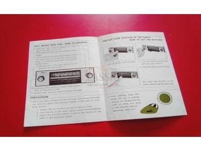 Auto-Rádio - Manual de auto-rádio instruções de uso (TOSHIBA)