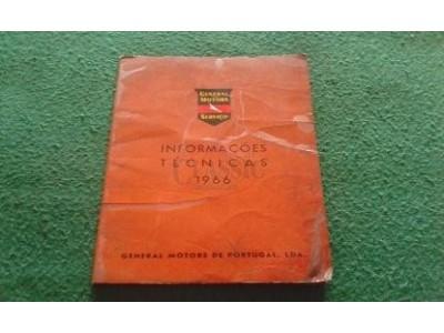 Manual de Informações Técnicas - (GENERAL MOTORS Serviço - 1966)