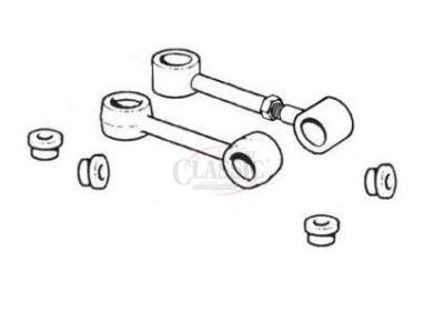 Mini - Casquilho do estabilizador superior motor