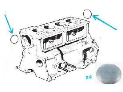 Austin A40 / Mini / Riley - Rela do bloco motor (Ø 41.10)