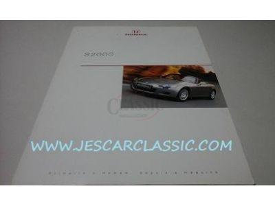 Honda S2000 - Catálogo de lançamento