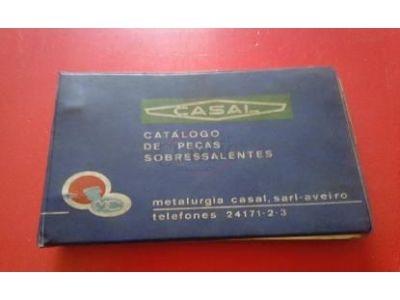 CASAL - Catálogo de peças sobressalentes