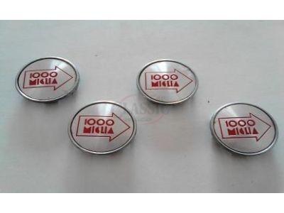 Alfa Romeo - Jogo de (4) centros de jante (MIGLIA 1000 - Ø 52mm)