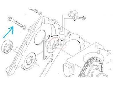 Ford Fiesta MkI / Ford Fiesta MkII - Parafuso sextavado da tampa distribuição (M6)
