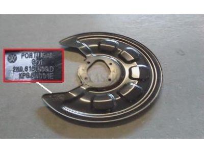 VW Caddy III - Deflector do disco travão traseiro