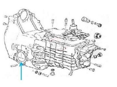 Citroen 2CV - Junta para falange de transmissão