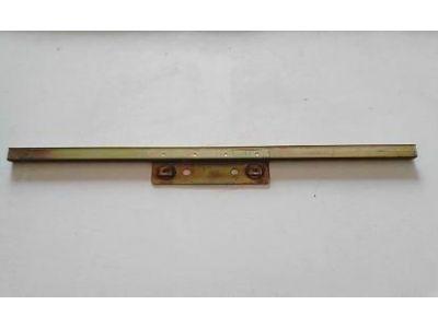 Aplicação Desconhecida - Calha de suporte vidro porta (393mm)